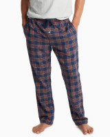 Southern Tide Tidings Plaid Lounge Pant