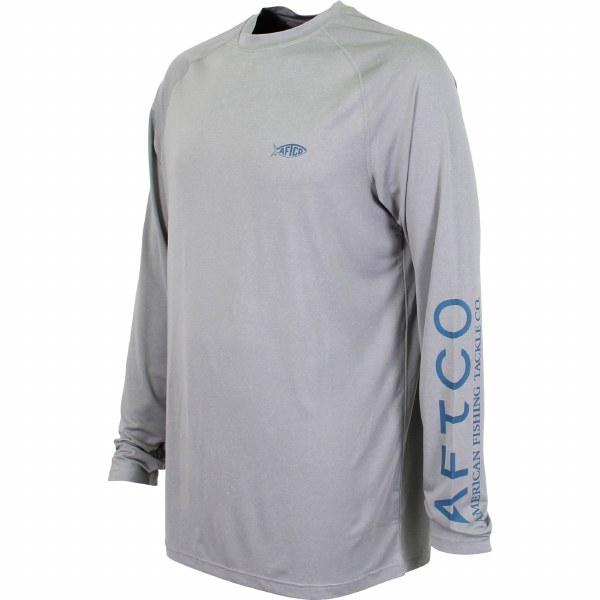 Aftco Samurai Heathered LS T-Shirt