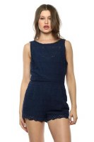 BB Dakota Dott Romper