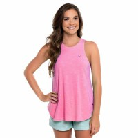 Southern Shirt Company Striped Hi-Neck Tank
