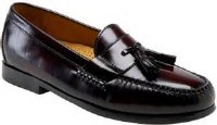 Cole Haan Pinch Tassel 8 Burgendy