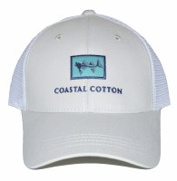 Coastal Cotton Structured Trucker Hat