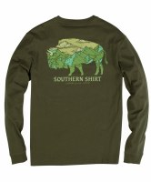 Southern Shirt Company Mountain Buffalo Long Sleeve Shirt
