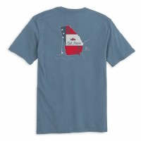 Fish Hippie Georgia State T-Shirt Slate