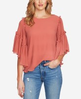1State Ruffle Sleeve Top