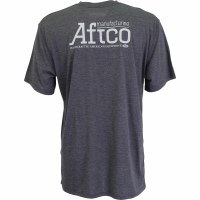 Aftco G Man Short Sleeve Charcoal
