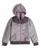 Girls North Face OSO Jacket Metalic Silver