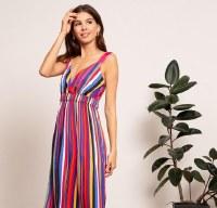 Lucy Paris Aurora Rainbow Dress