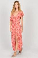 Amuse Midnight Flower Dress