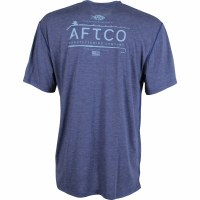 Aftco Fishtail Short Sleeve Ocean