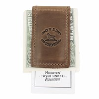 Over Under Horween Shell Money Clip