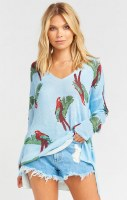 Show Me Your Mumu Canopy Sweater