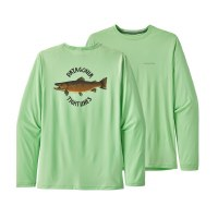 Patagonia Men's Long-Sleeved Capilene Cool Daily Graphic T-Shirt
