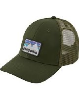 Patagonia Sticker Patch Lo Pro Trucker Hat