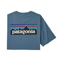 Patagonia Men's P-6 Logo Organic Cotton T-Shirt