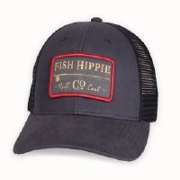 Fish Hippie Roll Cast Trucker Hat Navy