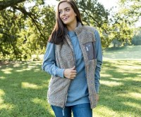 Southern Marsh Blue Ridge Sherpa Vest