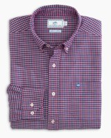 Southern Tide Channel Marker Gingham Sport Shirt