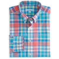 Southern Tide Full Throttle Coral Sportshirt