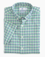 Southern Tide Triple Tattersall Intercoastal Short Sleeve Sport Shirt