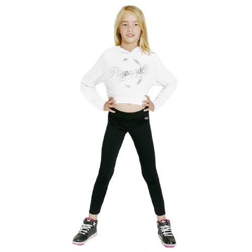 Girls Crop Hoodie Black **50% OFF FOR A LIMITED TIME ONLY - WAS 38 NOW 19**
