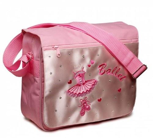Satin Ballerina Satchel bag