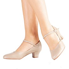 "So Danca 1.5"" Inch Character Shoe Tan - CH50"
