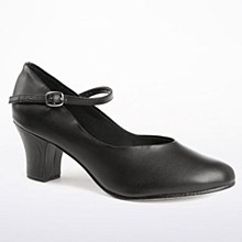 So Danca 2inch Chracter Shoe Black - CH52