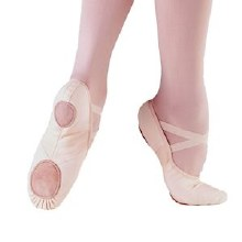 **SALE - WAS 20 NOW 10** So Danca Canvas Ballet Shoe- BAE13