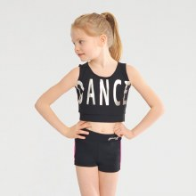 Crop Dance Vest **50% OFF FOR A LIMITED TIME ONLY - WAS 25 NOW 12.50**
