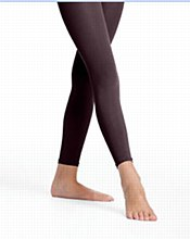 Danskin Footless Tights BLACK - 711
