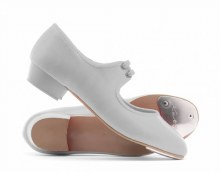 **SALE - WAS 30 NOW 10** Katz Single tap tap shoe - White