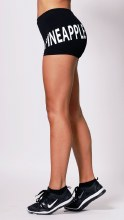 Logo Hotpants black **50% OFF FOR A LIMITED TIME ONLY. WAS 29 NOW 14.50**