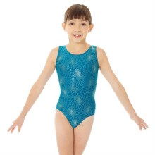 **SALE - WAS 45 NOW 15** Mondor Mallard/Gold Tank Leotard 7822