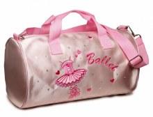 Satin Ballerina Barrel Bag
