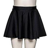 Roch Valley Shiny Circular Skirt Black Small