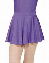 Roch Valley Shiny Circular Skirt Purple