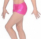 Zone Shiny Hipster Shorts Cerise - Z2000CHI