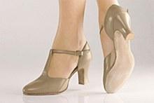 So Danca T-Bar Character Shoe Tan - CH57