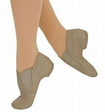 ***SALE WAS 40 NOW 30***Split Sole Jazz Boot Tan - JZE 45