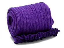 ***REDUCED WAS 9 NOW 2***Katz Leg Warmer Purple
