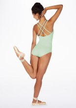 **SALE - WAS 35 NOW 20** Strappy back leotard Aqua Green