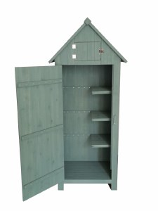 Kent and Stowe Sentry tool Shed 1.8m Green