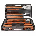LG 18 Piece Deluxe BBQ Tool Set