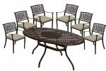 Borovale 180cm Table Set HBCC