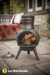 Chimenea Cast Iron Squat Bronze
