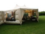 LG Large Party Gazebo Cream