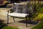 LG Devon 2 Seat Cushioned Bench