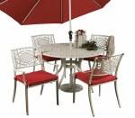 Mississippi 120cm Rnd. Table Set