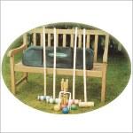Traditional Garden Games Croquet Set 96cm